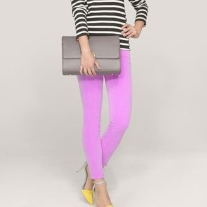 J.Crew Toothpick Skinny Jeans in Pink Size 28